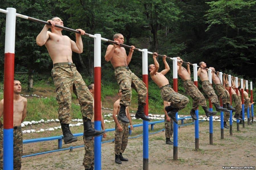 Спорт в армии