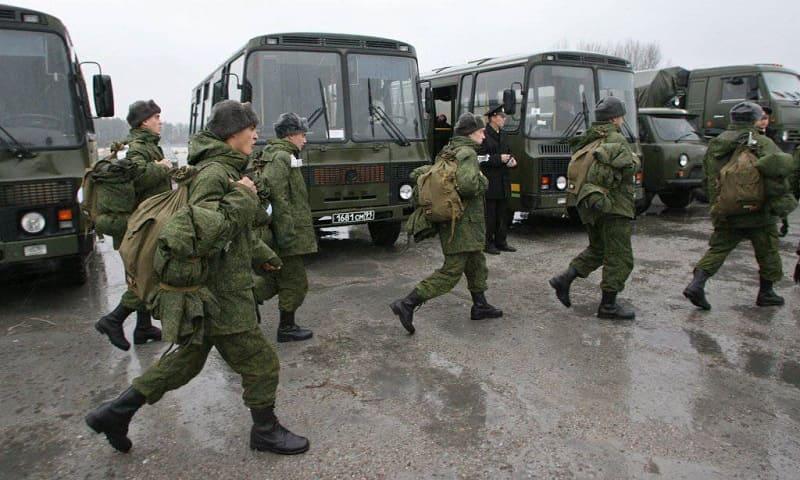 Служба в армии России