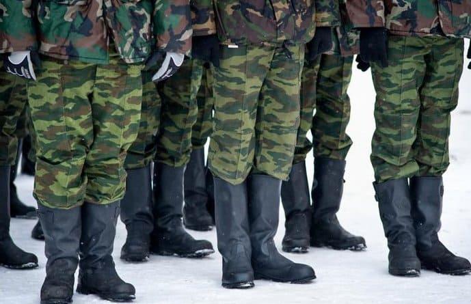 Строй в армии